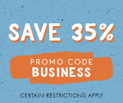 Save with promo code BUSINESS